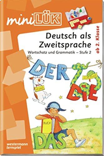 miniLÜK: Deutsch als Zweitsprache 2: Wortschatz und Grammatik - Stufe 2