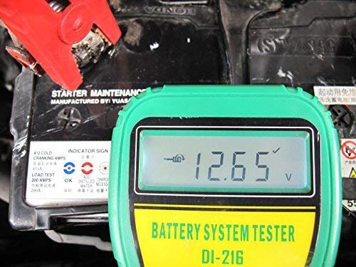 DLG DI-216 Automotive Battery Tester Vehicle Car Battery System Analyzer Diagnostic Tool by DLG (Image #5)