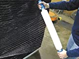 Stretch Wrap, Hand Dispensed, 1-Side Cling, Netted, 20'' x 1000 ft, Gauge: 80, Clear