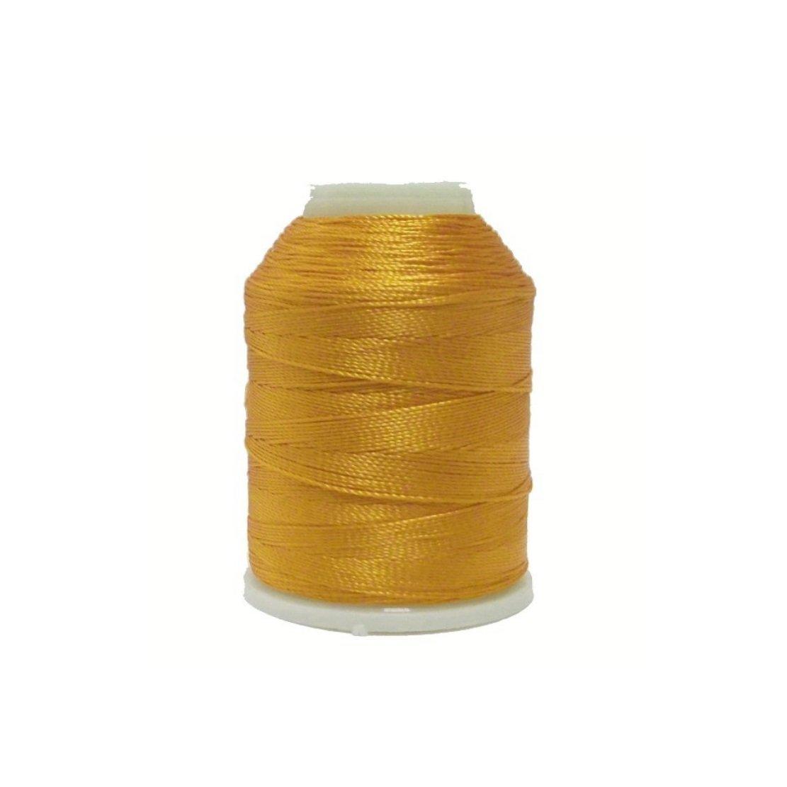 altinbasak 20/G filato per uncinetto Filati 300/m 6/prese 0,75/mm Nr 50/poliestere filato per uncinetto faedeln naehgarne 300/m Giallo Ocra IP41