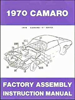step by step 1935 1936 buick chevrolet cadillac lasalle oldsmobile1970 camaro factory assembly manual