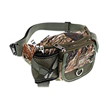 MagiDeal Fishing Waist Bag Water-resistant Breathable Tackle Bag Large Capacity Pack