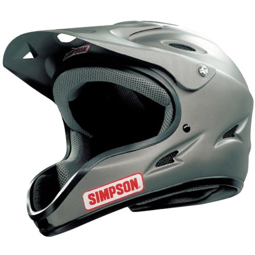 Simpson 1450038 Pit Warrior OTW Black Large Helmet Simpson Pit