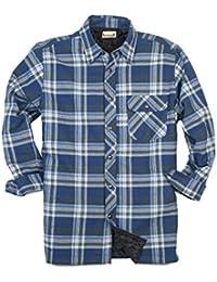 Men's Flannel/Quilt Lined Shirt Jacket
