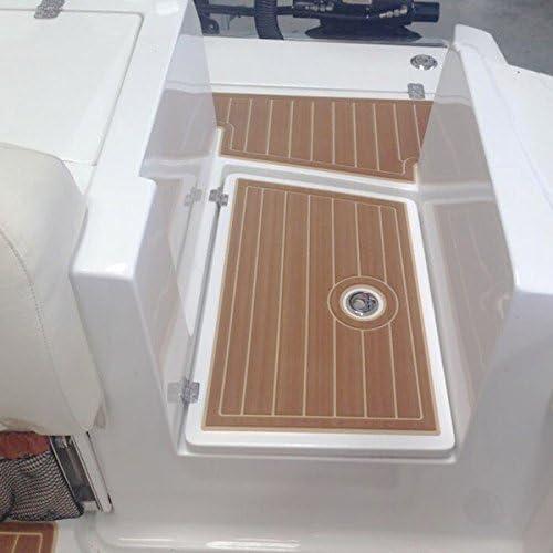 Plancher de yacht en teck EVA Tapis de Yacht Tapis de Pont Antid/érapant en Mousse EVA Plancher de bateau en teck Bateau Teck Plancher Antid/érapant Tapis de Sol pour Bateau Marron fonc/é