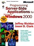 img - for Programming Server-Side Applications for Microsoft Windows 2000 (Dv-Mps Programming) book / textbook / text book