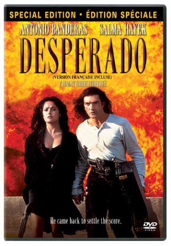 Amazon Com Desperado Special Edition Antonio Banderas Salma Hayek Quentin Tarantino Danny Trejo Joaquim De Almeida Robert Rodriguez Movies Tv