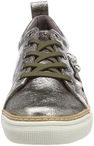 oliver Argent Femme Sneakers 23624 Basses S pewter dnxvqF84dw