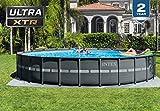 Intex 26339EH Ultra XTR Set Above Ground Pool, 24ft