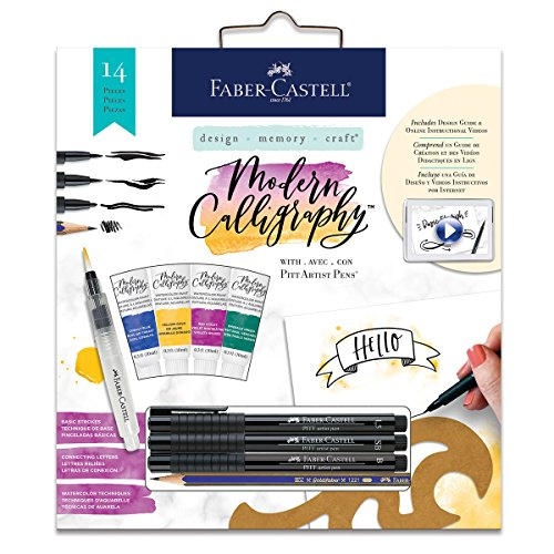 Faber-Castell Modern Calligraphy Kit - Watercolor Calligraphy For Beginners