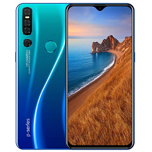 Kariwell 2+32GB Android 9.1 Smartphone - Quad Core 6.3 inch Dual HD 500W Camera Smartphone with 3800Mah Battery WiFi Blueteeth GPS 3G Call 6.3