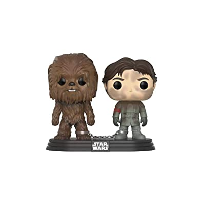POP Funko Solo A Star Wars Story Han Solo and Chewbacca 2 Pack: Toys & Games