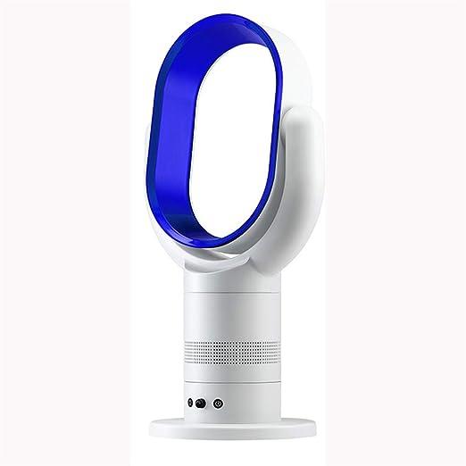 KT Mall Ventilador Inteligente sin Hojas, Control Remoto Inteligente, enfriamiento Ultra silencioso FA, Ventilador eléctrico, Escritorio, Ventilador de Aire ...