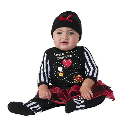 Rubie's Costume Co Baby's Little Treasure Costume, Multi, 0-6 Months (Little Girls Pirate Costume)