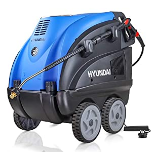 Hyundai 2170 PSI Hot Water Pressure Washer, 2.8kW, Electric Single Phase Motor, Power Washer, Portable Pressure Washer…