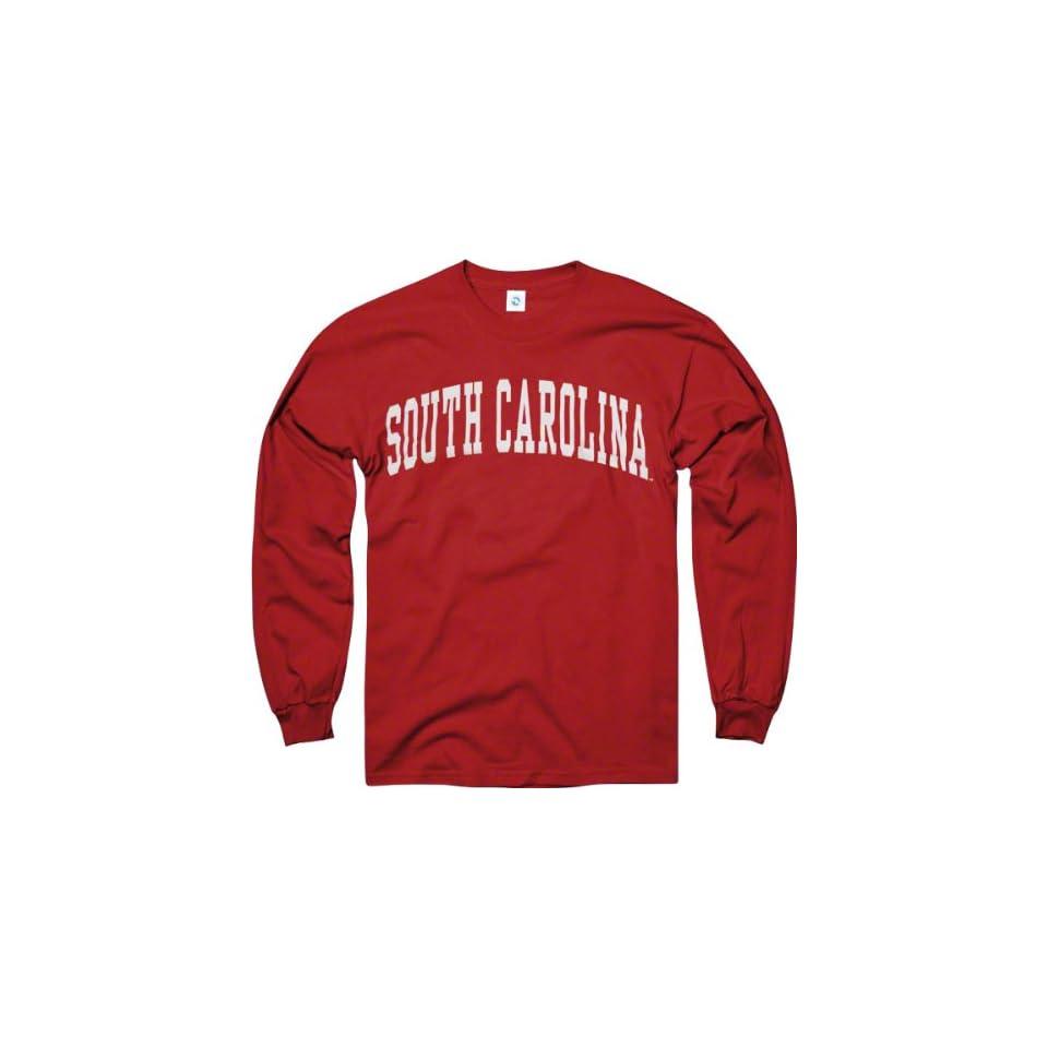 South Carolina Gamecocks Cardinal Arch Long Sleeve T Shirt