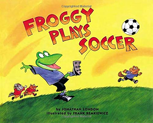 Froggy Plays Soccer (Best Soccer Player In The World Now)