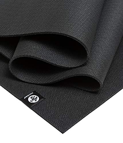Manduka X Yoga and Pilates Mat, Black, 5mm, 71