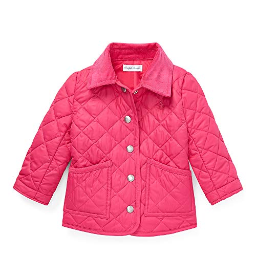 - Polo Ralph Lauren Baby Girl's Quilted Barn Jacket, 24 Months, Pink