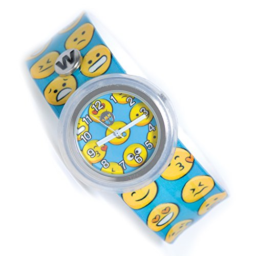 Watchitude Plunge Proof Slap Watch - Happy - Kids Watch for Boys & Girls