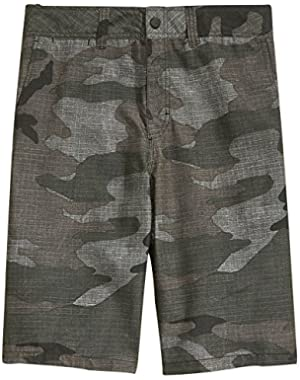 Men's Wet Block Hybrid Shorts
