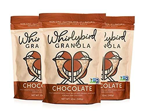 Whirlybird Granola Chocolate 12oz, Pack of 3