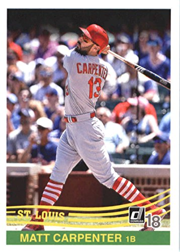 2018 Donruss #263 Matt Carpenter Retro 1984 Cardinals