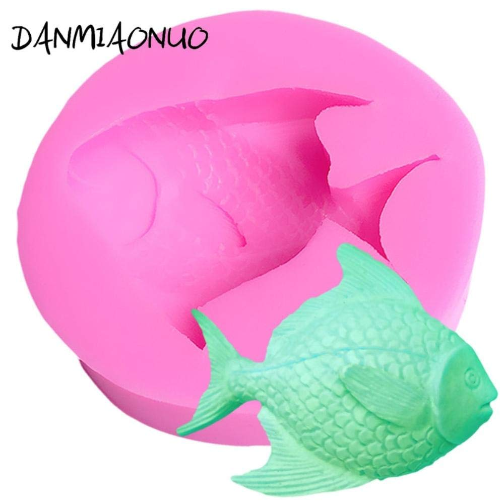 Amazon.com: Lovely 3d Mold Fish Silicone Cake Chocolate Gumpaste Mold Soap Silicone Mold Food Grade Silicone Baking Tools For Cakes: Kitchen & Dining