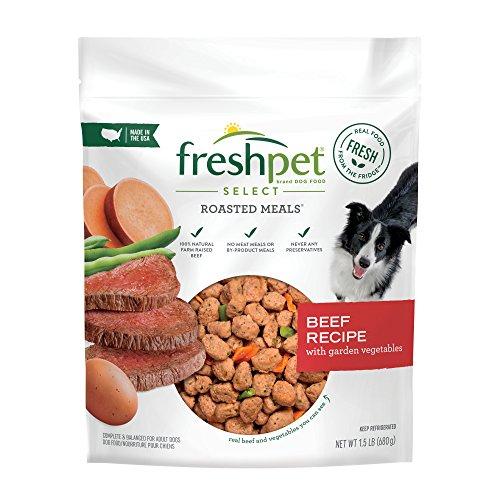 Freshpet Select Healthy & Natural Dog Food, Fresh Beef Recipe, 1.5lb