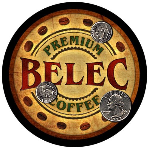 4 pack - Belec Family Coffee Neoprene Drink Coasters from ZuWEE