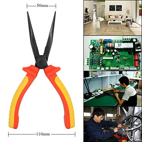 - 1 piece Proskit PM-918 Insulated Long Nose pointed round beak Plier Electrician Hand Tools Wire Stripper Cutter Multitool Pliers