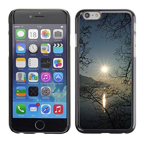 """Hard plastica indietro Case Custodie Cover pelle protettiva Per // M00421556 Lac Léman en Suisse Coucher de soleil // Apple iPhone 6 6S 6G PLUS 5.5"""""""