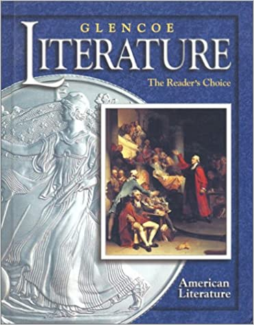 Glencoe literature 2002 course 6 grade 11 american literature glencoe literature 2002 course 6 grade 11 american literature the readers choice 1st edition fandeluxe Images