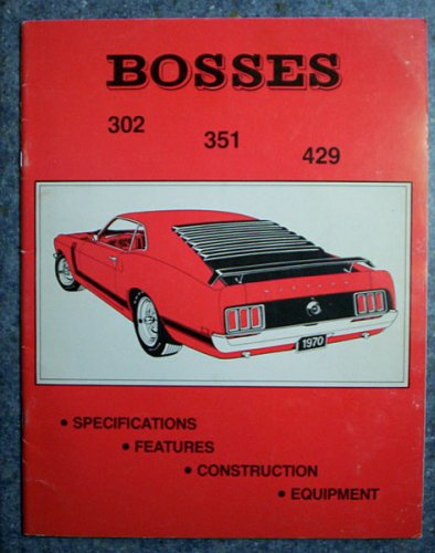 1969-1971 Bosses 302 351 429 Sales Man