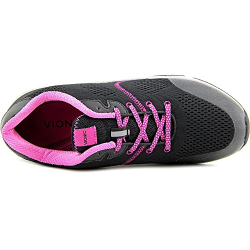 Vionic Womens Action Emerald Lace Up Athletic Sneaker Shoes, Black, US 6.5 by Vionic (Image #3)
