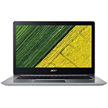 "Acer Swift 3 SF314-52-517Z 14"" Laptop Computer - Silver, Intel Core i5-8250U Processor 1.6GHz, 8GB DDR4 Onboard RAM, 256GB Solid State Drive, Microsoft Windows 10"