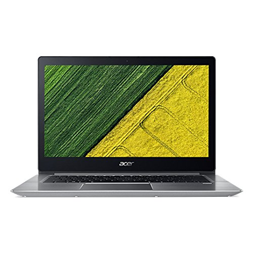 Acer Swift 3 SF314-52-517Z 14″ Laptop Computer – Silver, Intel Core i5-8250U Processor 1.6GHz, 8GB DDR4 Onboard RAM, 256GB Solid State Drive, Microsoft Windows 10