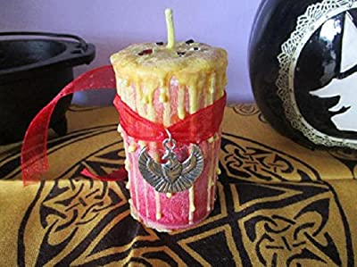 Fire Candle ~ Wicca Elemental Candle ~ Witch's Candle ~ Witchcraft Candle ~ Elemental Candle ~ Ritual Candle ~ Altar Candle ~ Mystics Realm