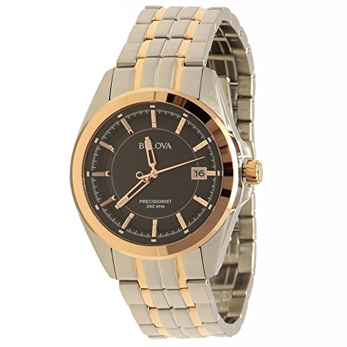 Bulova Men's Quartz Stainless Steel Dress Watch (Model: 98B268)