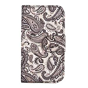 Leaf Applique Pattern Full Body Case for Samsung Galaxy S4 i9500(Assorted Color) , Black