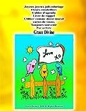 joyeux joyeux joli coloriage fleurs ensoleill?es cahier d agenda livre de rappel utiliser comme d?cor mural cartes de voeux toujours souvenir par artiste grace divine french edition