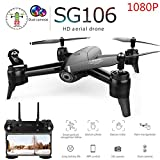 DSstyles Drone with Dual Camera 1080P 720P 4K WiFi FPV Real Time Aerial Video Wide Angle Optical Flow RC Quadcopter Helicopter Toys 1080P Dual Camera