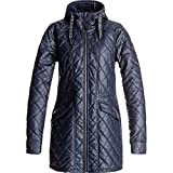 Roxy Womens Lofty Parka Jacket Medium Peacoat