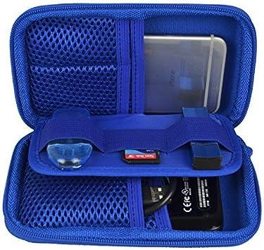 ESTARER Robusto Funda Bolso para Disco Duro Externo/USB Flash/SD Card Azul: Amazon.es: Electrónica