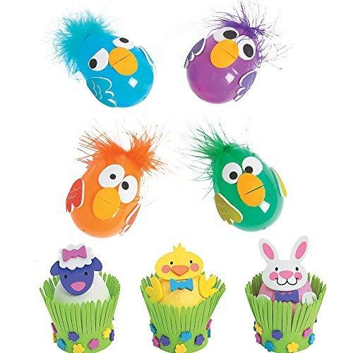 Easter Egg Decorating Crafts Kits - Including Crazy