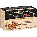 Bigelow Vanilla Chai Tea Bags 20-Count Boxes (Pack of 17). Caffeinated Individual Black Tea Bags, for Hot Tea or Iced Tea, Drink Plain or Sweetened with Honey or Sugar (Vanilla Chai (Pack of 17))