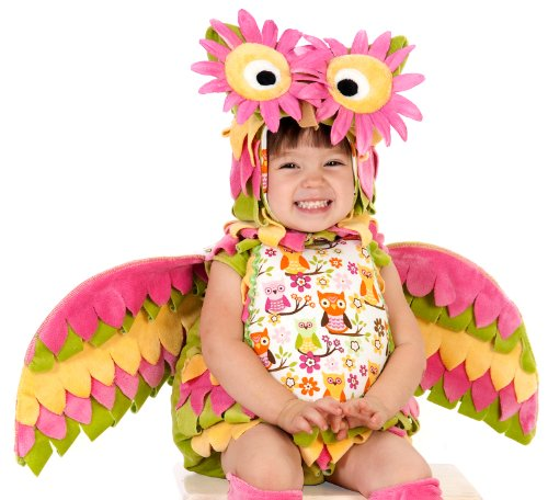 [Princess Paradise Baby Hootie the Owl Deluxe Costume, As Shown, 3T-4T] (Infant Owl Halloween Costumes)