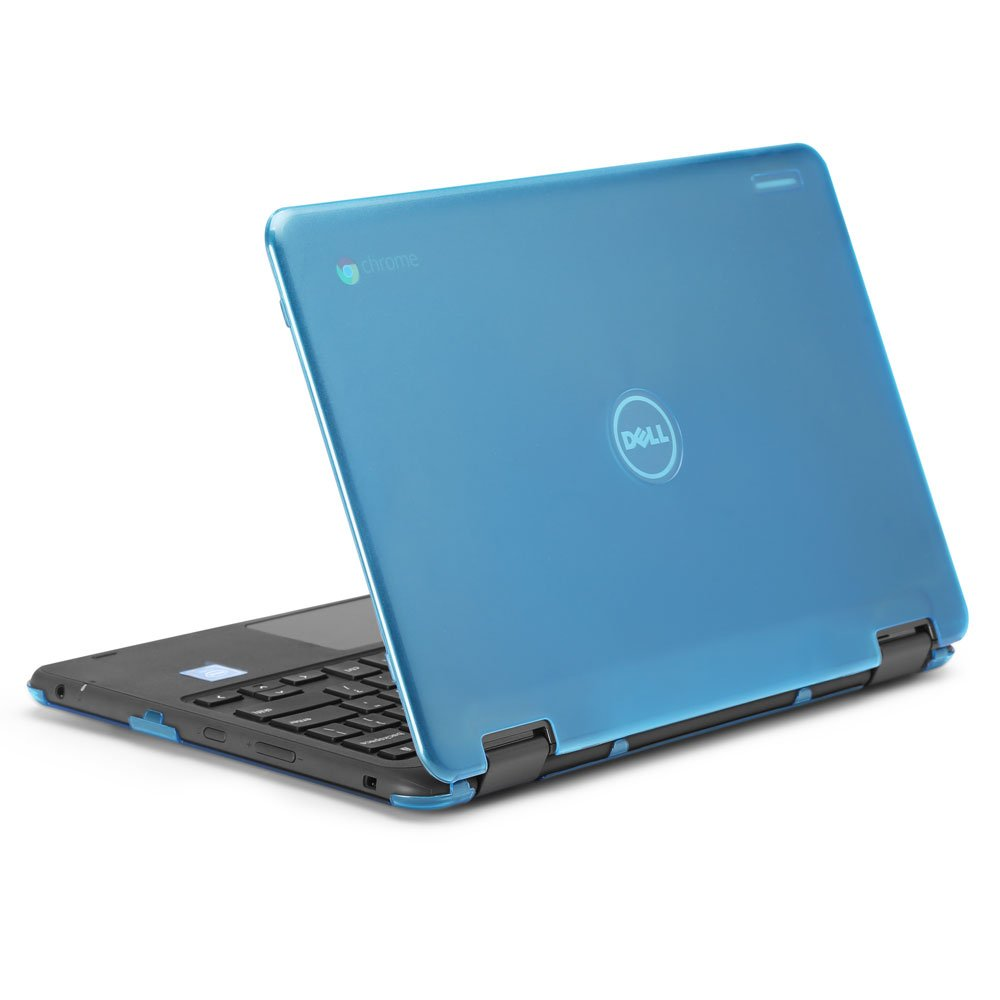 mCover iPearl Hard Shell Case for 2017 11.6'' Dell Chromebook 11 3189 Series 2-in-1 Laptop (NOT Compatible with 210-ACDU / 3120/3180 Series) - 3189 Aqua