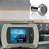 "2.4"" LCD Visual Monitor Door Peephole Peep Hole Wireless Viewer Camera Video"
