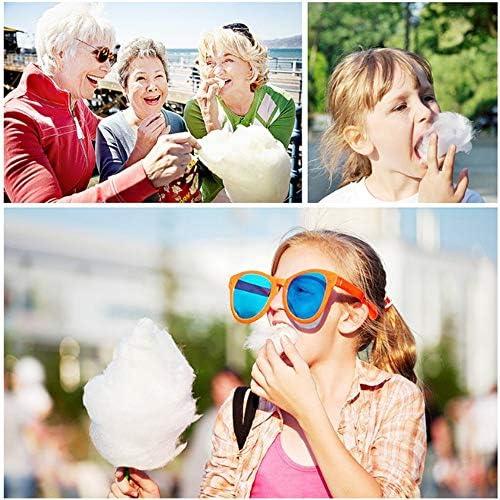 Mode suikerspin floss maker, suikerspin machine, marshmallow machine, gemakkelijk schoon te maken en te gebruiken, kinderfeestje zoet geschenk